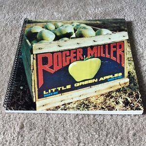 Roger Miller Little Green Apples album notebook